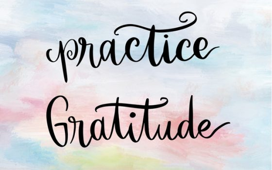 Practical Thankfulness